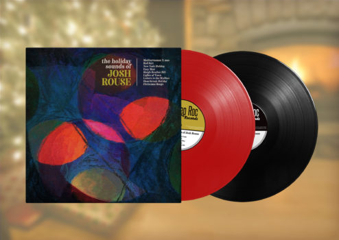 The Holiday Sounds of Josh Rouse first edition vinyl LP